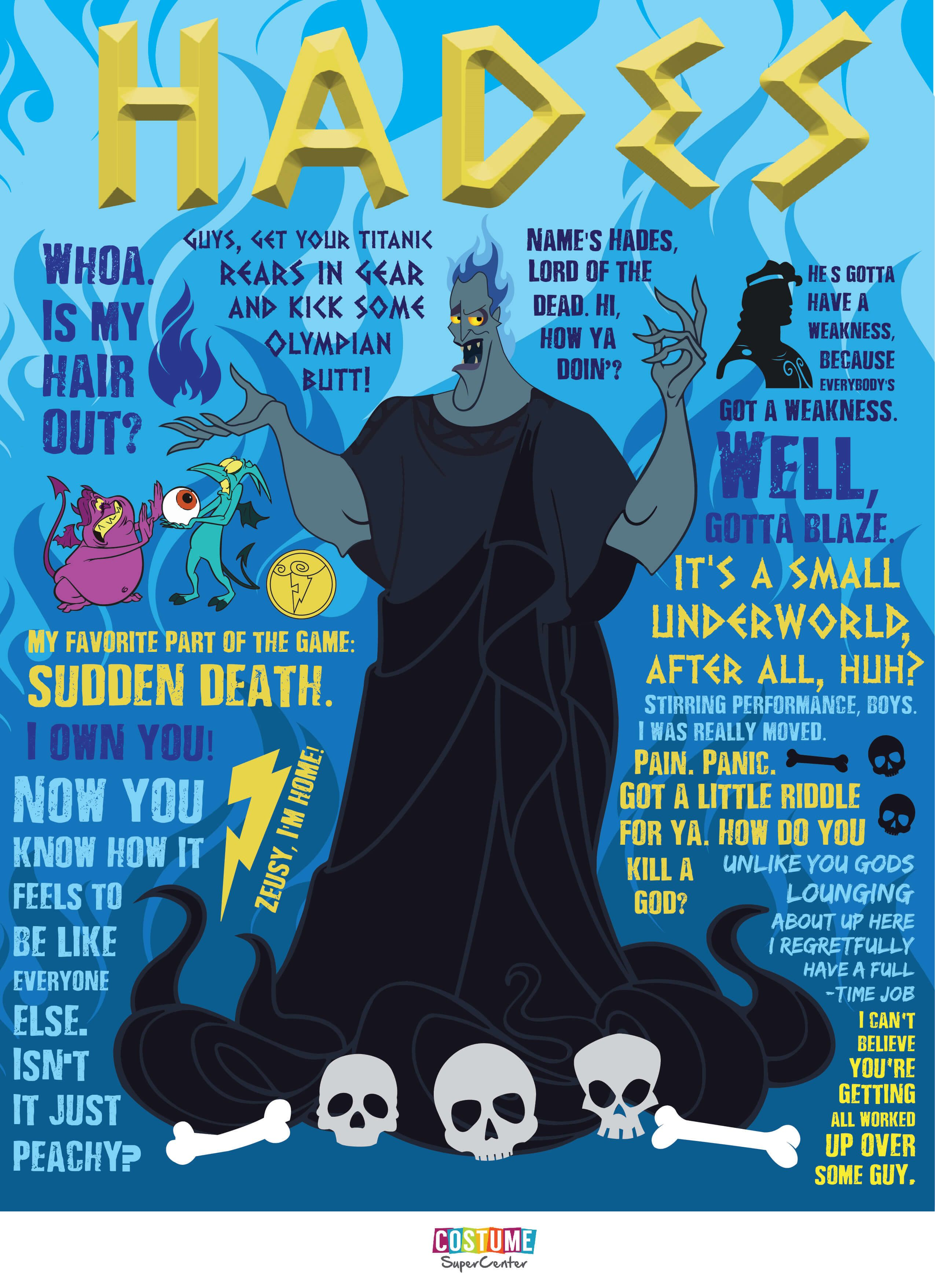 lord of the dead hades quotegraphic disney hercules disney