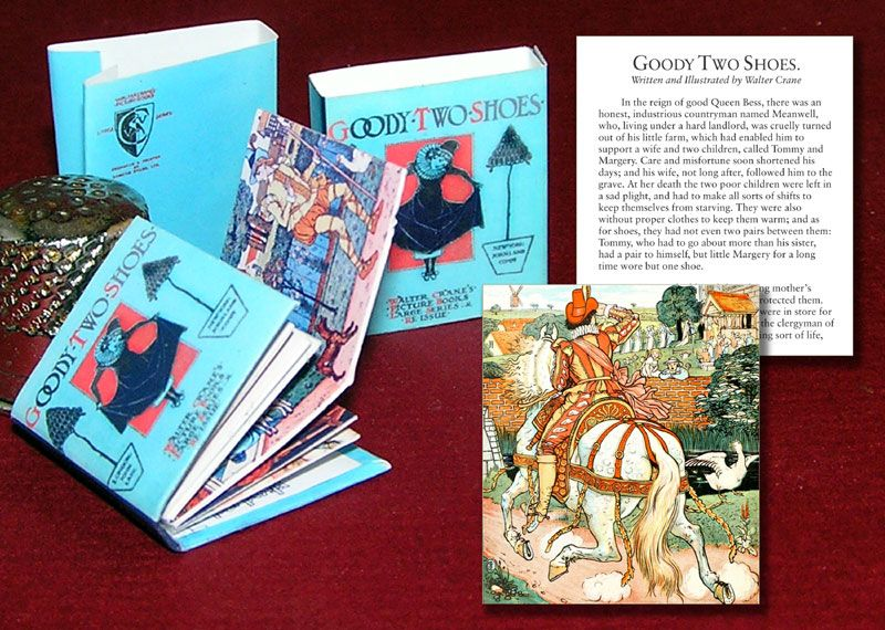 Month 2: Goodie Two Shoes, by Walter Crane