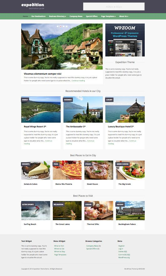 Expedition #WordPress #City #Directory #Listing Theme - Wpchats.com