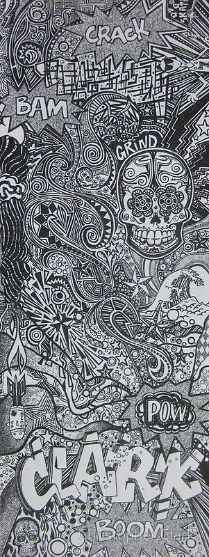 Doodle for Declan, Pen and Ink, by Christopher Clark