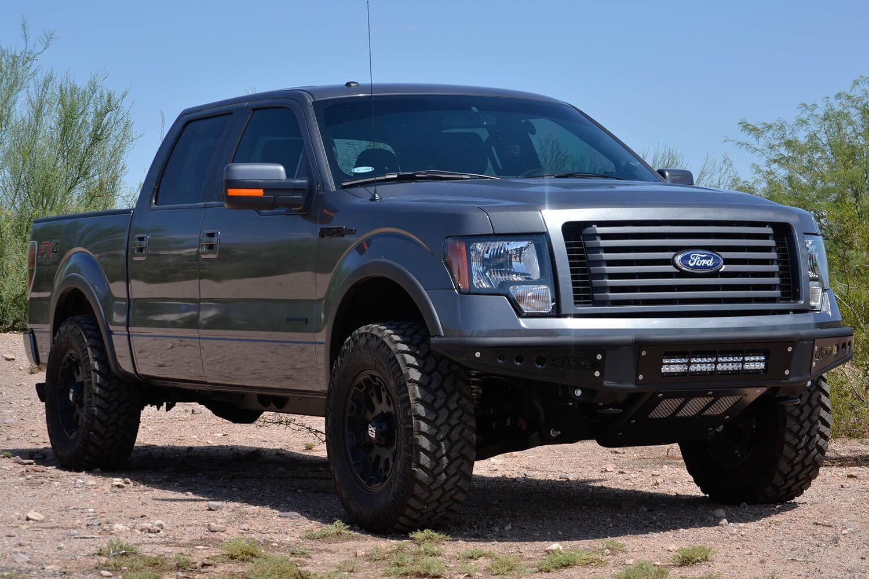 2011 2014 Ford Ecoboost F 150 Venom Front Bumper Desert Design Truck Accessories Ford Ford Trucks