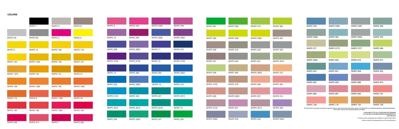 Online color chart - Color Chart Whpc Color Chart