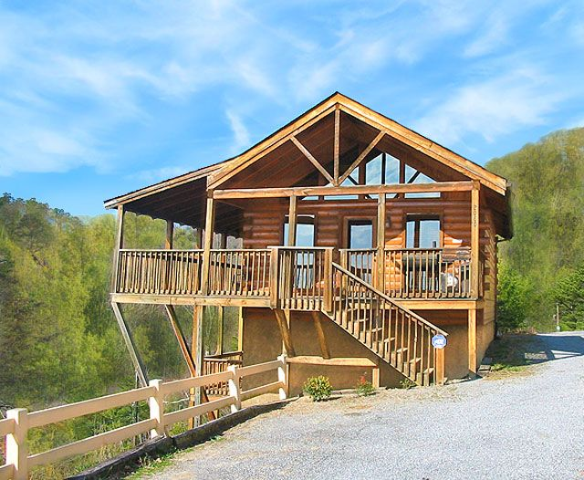 Lovers Point 1 Bedroom Pigeon Forge Cabin Rental Smoky Mountain Cabin Rentals Cabin Hot Tub Cabin