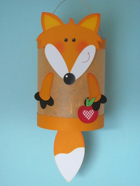 Martin Lantern Fox Orange