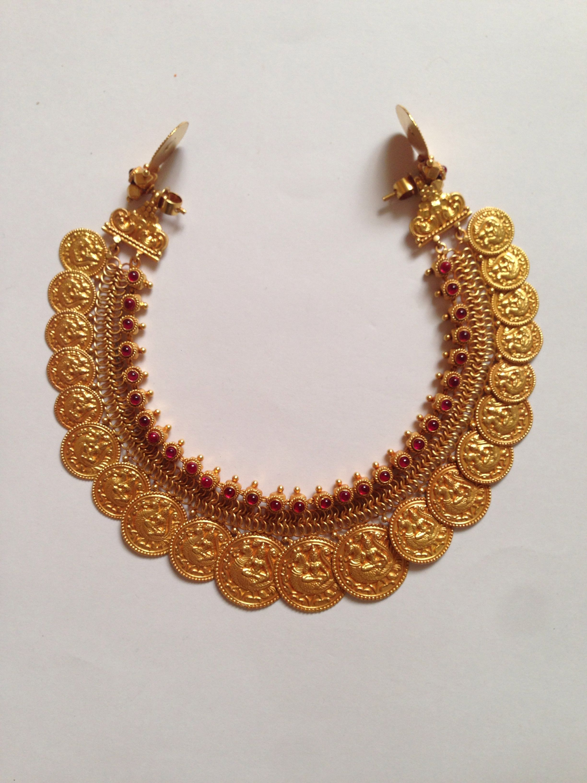 jewellery ruby chain antique necklace dar jewels long gold south india