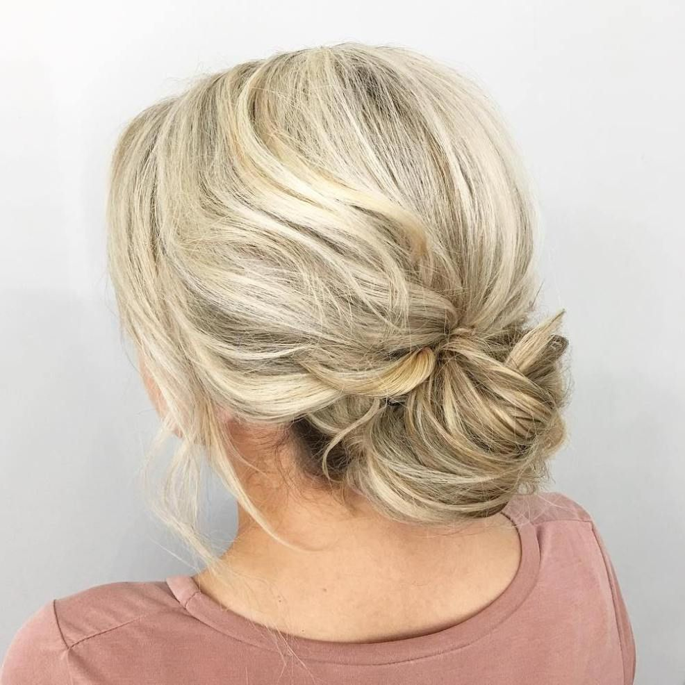 20 Easy Hairstyles for the Fabulous Girl on the Go   Low buns, Easy ...
