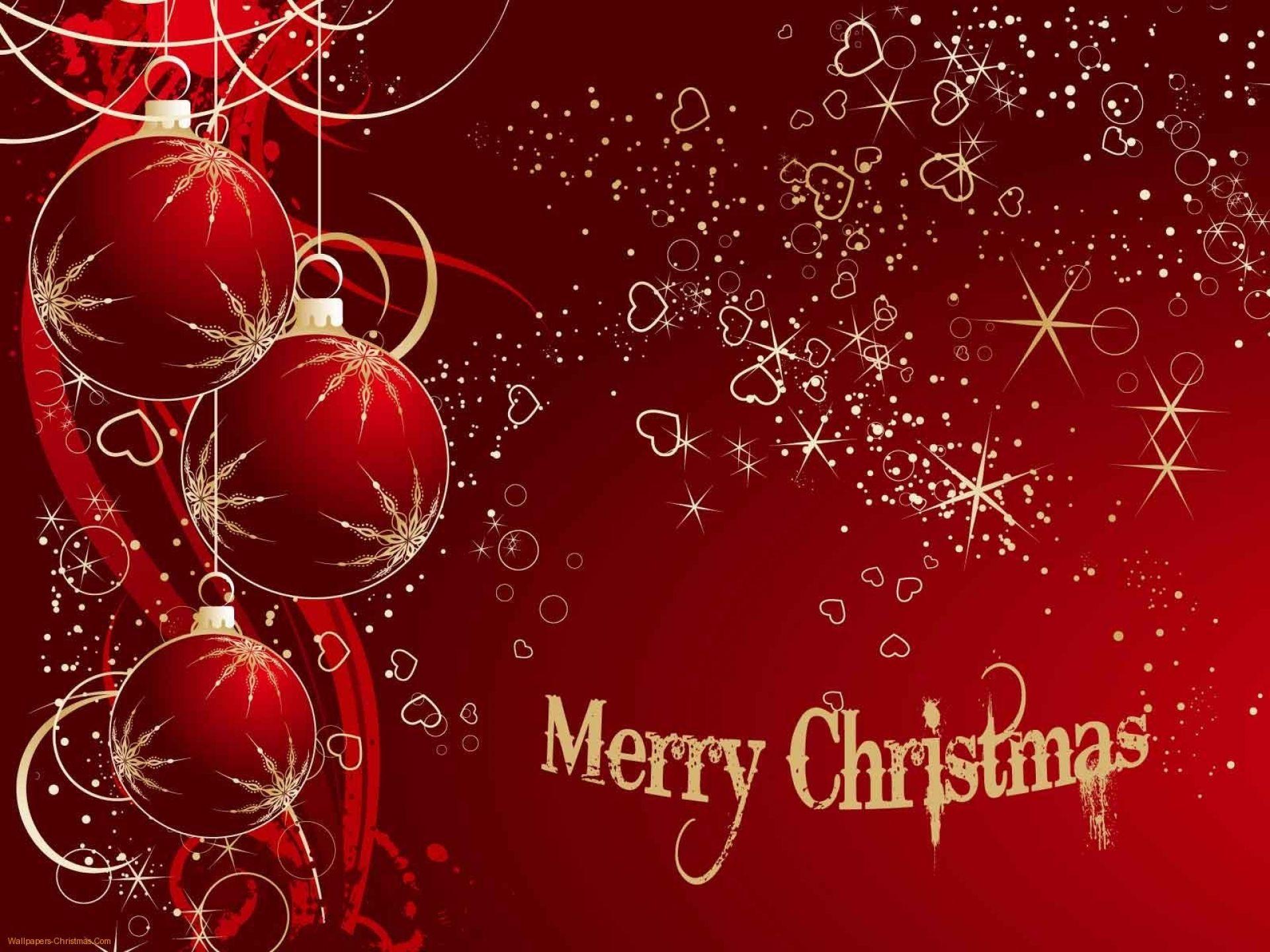 Download Merry Christmas Wallpaper Contoh cat, Abstrak