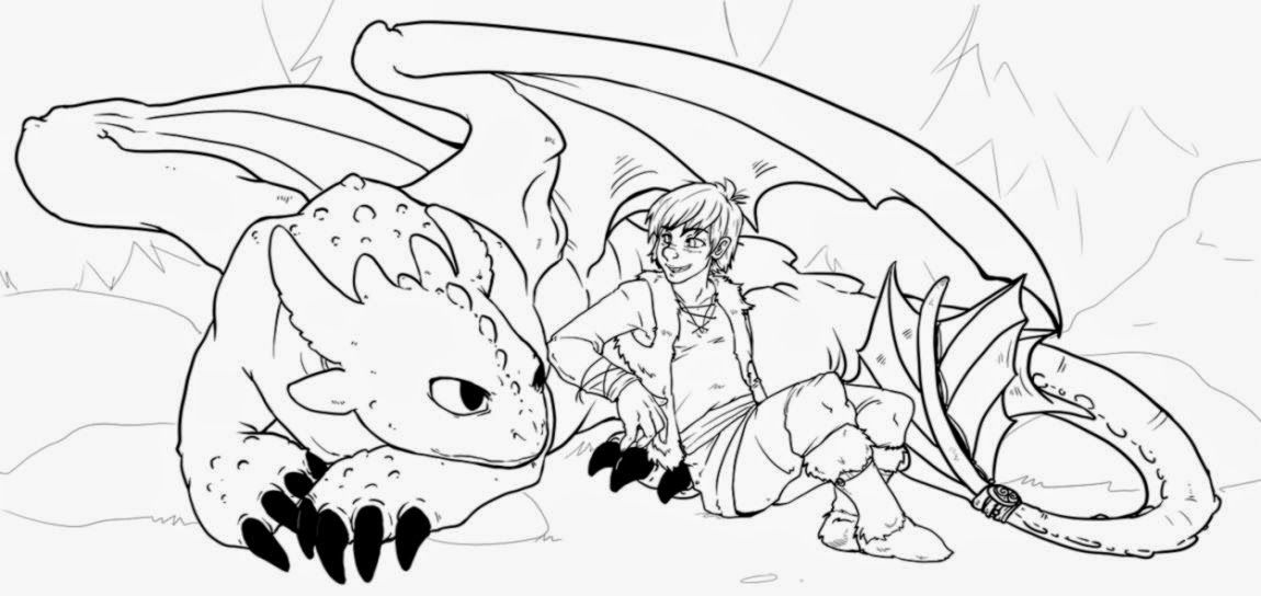 How To Train Your Dragon Coloring Pages Online Dragon
