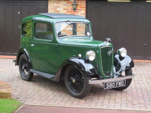 1936 Austin Seven Ruby Saloon  Chassis no. 268215 Engine no. M282903