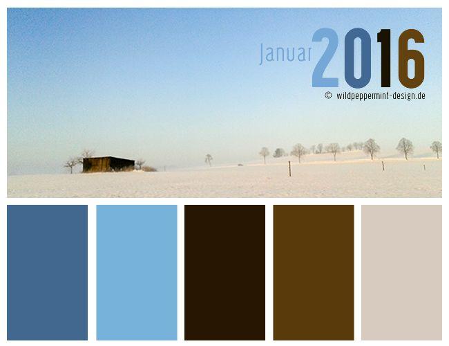farbpalette winter farbinspiration winter k hle farben januar wildpeppermint. Black Bedroom Furniture Sets. Home Design Ideas