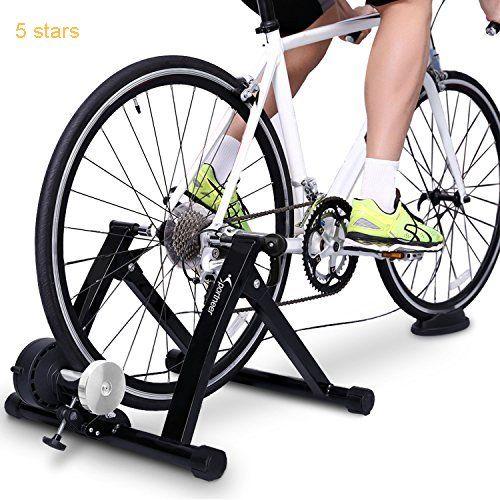 Sportneer Bike Trainer Steel Bicycle Indoor Exercise Trainer Stand