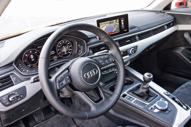 The Audi S Instrument Cer Looks As Futuristic Center Screen Which Is Now Fixed A4 B9 With Manual Transmission Euro Spec