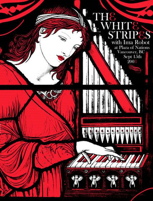 the white stripes gig posters | Rob Jones — Beautiful