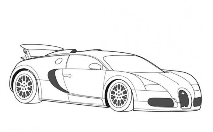 super car coloring pages Bugatti Veyron Super Car Coloring Page | Free Online Cars Coloring  super car coloring pages