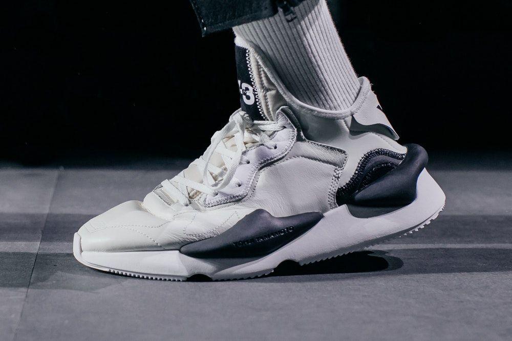 eca6c0d03cd5 Y-3 adidas Yohji Yamamoto 2018 Fall Winter runway collection paris fashion  week mens shoes sneakers
