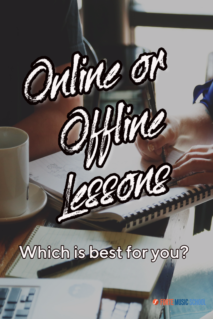 Online and Offline lessons Which is best for you