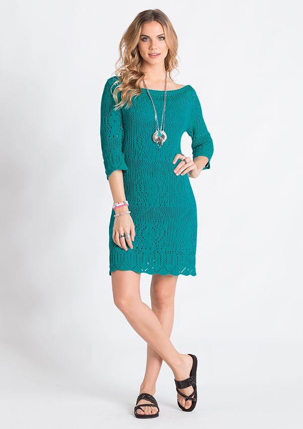 trico-de-verao-vestido-turquesa