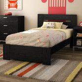 Found it at Wayfair - Flexible Distressed Twin Panel Customizable Bedroom Set