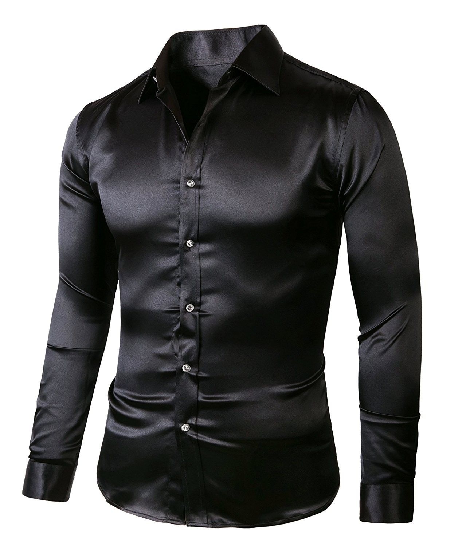 37++ Black dress shirt mens ideas
