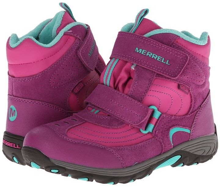 91336a041e8 Merrell Moab Polar Mid Strap 2.0 Waterproof (Big Kid) | Products ...