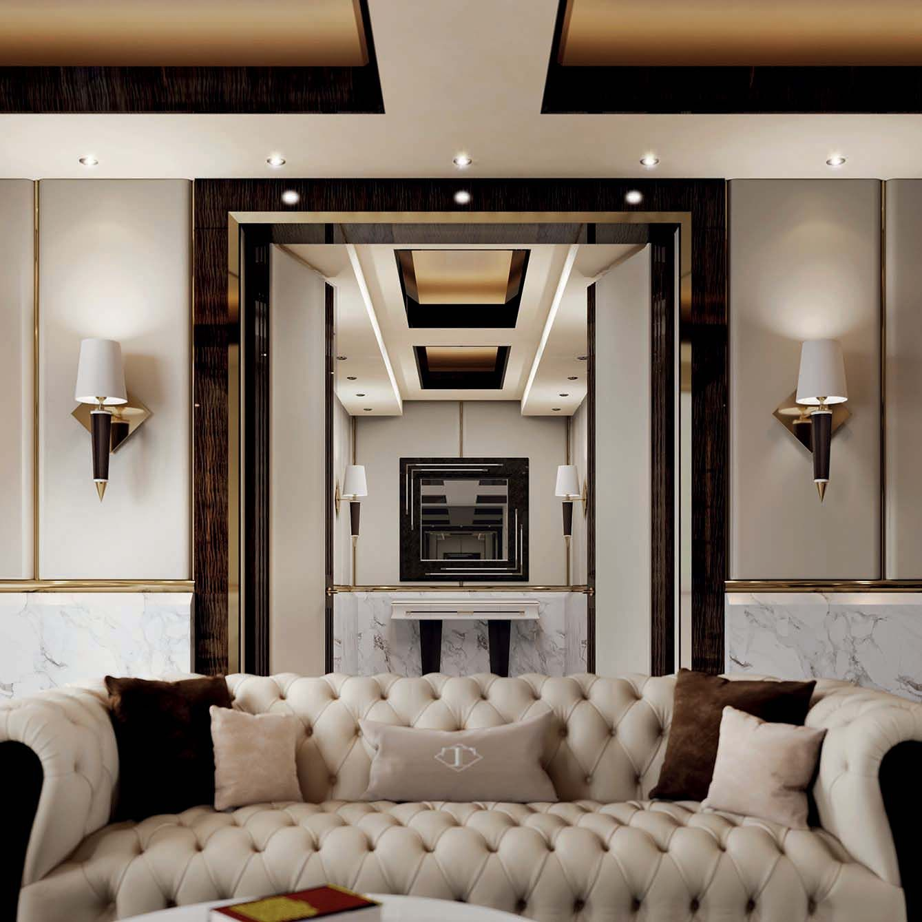 Luxurious Home Decor Ideas That Will Transform Your Living: Mayfair Collection Www.turri.it Italian Luxury Living Room