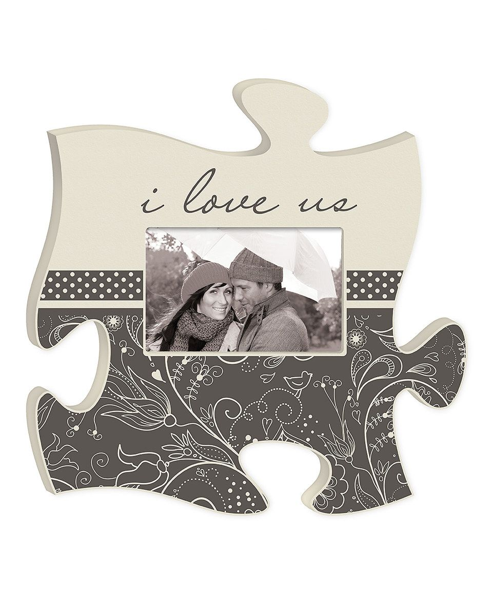 Loving This I Love Us Puzzle Piece Photo Frame On Zulily