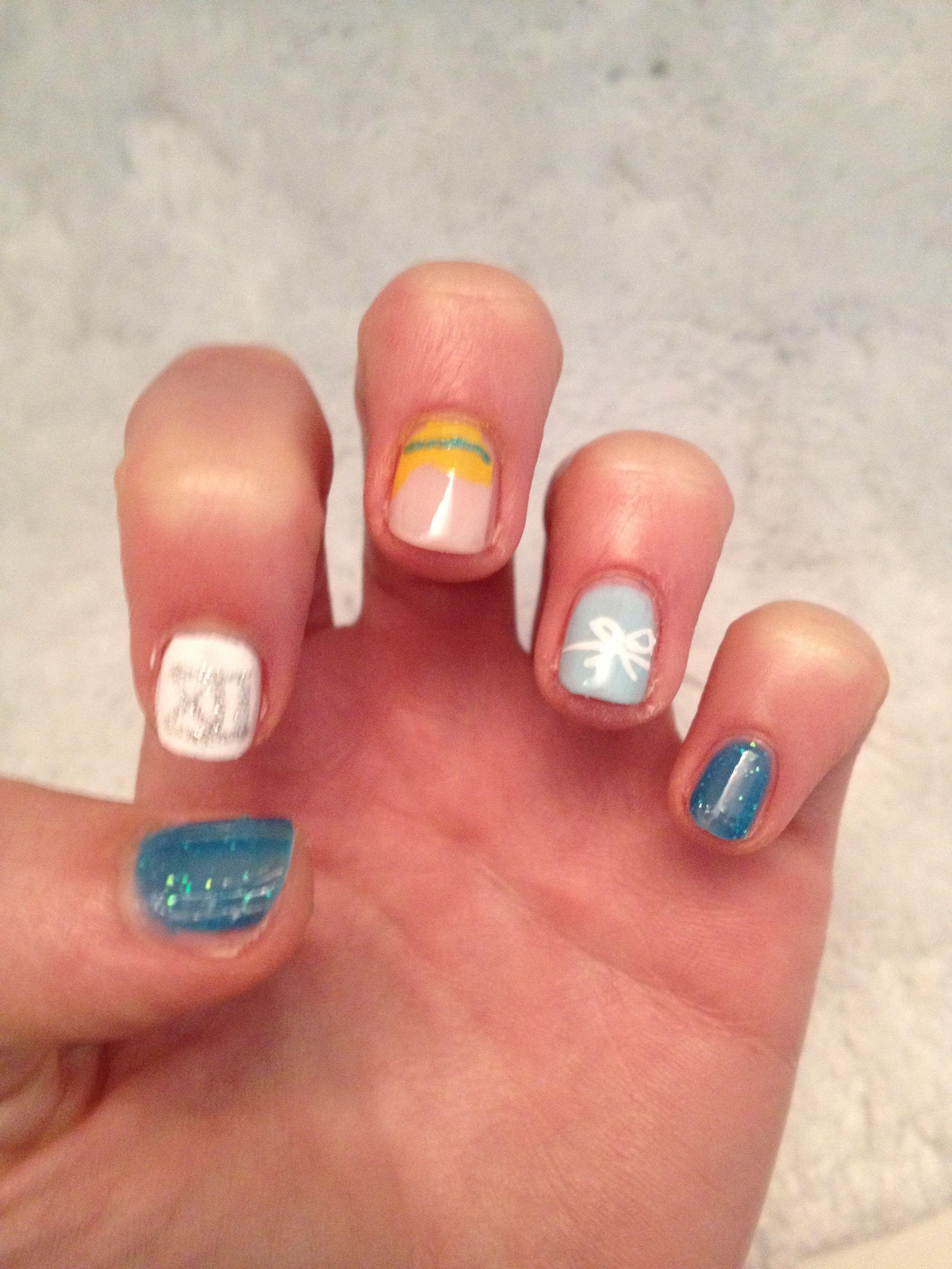 My Cinderella nails   Nails   Pinterest