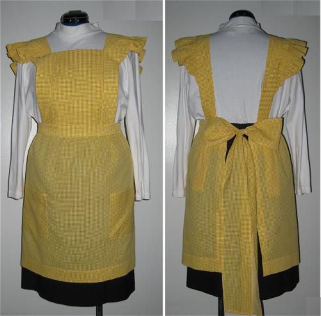 Reto Ruffle Apron Pattern: Materials Needed to Sew a Retro Apron