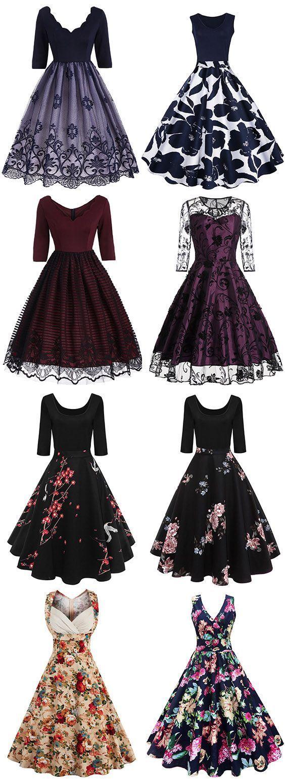 12 Suchen Sie ein Vintage-Kleid billig online? DressLily.com von