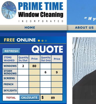 Window Cleaning Quote Template  Google Search  Cleaning Service