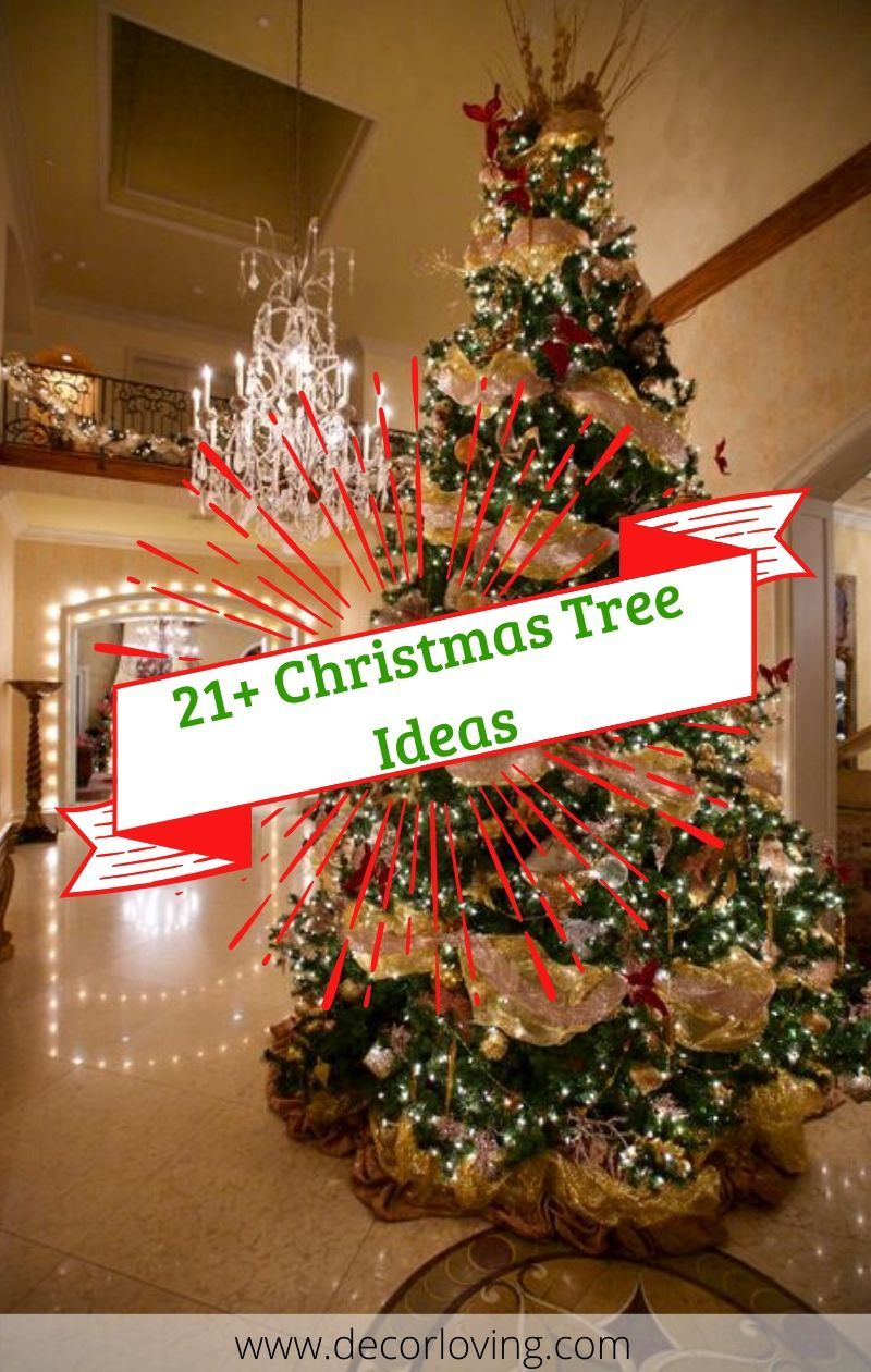 21 Christmas Tree Decoration Ideas For Christmas Decoration At Home Christmas Tree Decorations Diy Diy Christmas Tree Christmas Tree