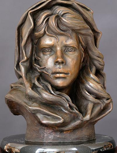 Fisherman s daughter philippe faraut sculpture