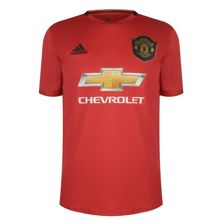 Adidas Manchester United Marcus Rashford Home Shirt 2019 2020 Mufc Football Kit Manchester United Shirt Manchester United Shirts