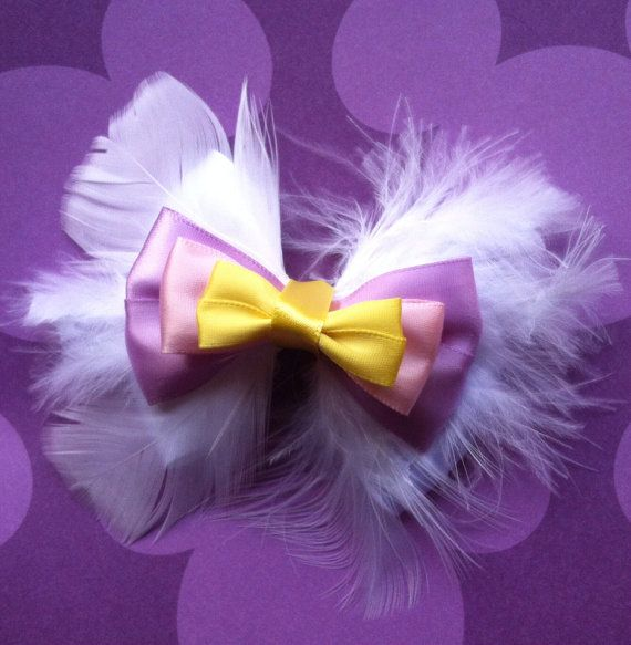 Daisy Duck Bow Free Shipping By Paisleyzbowz On Etsy