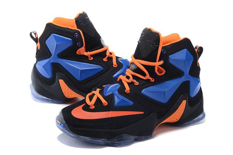 big sale 200e3 0882b ... 2016 Mens Lebron James 13 White Silver Blue Shoes Sports that I love  Pinterest Lebron james ...