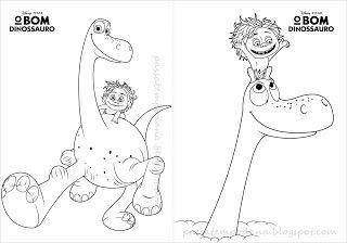 Passatempo Da Ana Dinossauro Paginas Para Colorir O Bom Dinossauro