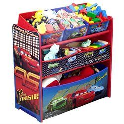 CARS 6 BIN TOY ORGANIZER (00080213016678) The charming and functional Disney Cars Toy Organizer  sc 1 st  Pinterest & CARS 6 BIN TOY ORGANIZER (00080213016678) The charming and ...