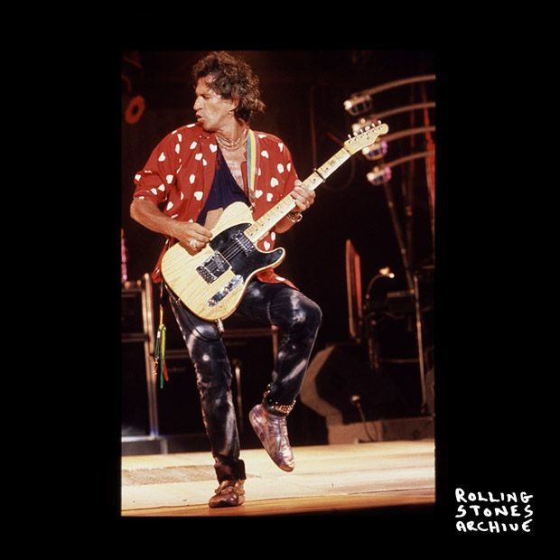 Keith on stage at the Tokyo Dome, 1990 @officialKeef