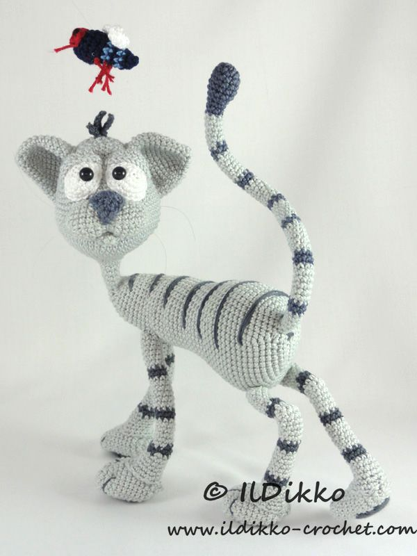 Kit the cat amigurumi crochet pattern by IlDikko | AMIGURUMI FASHION ...