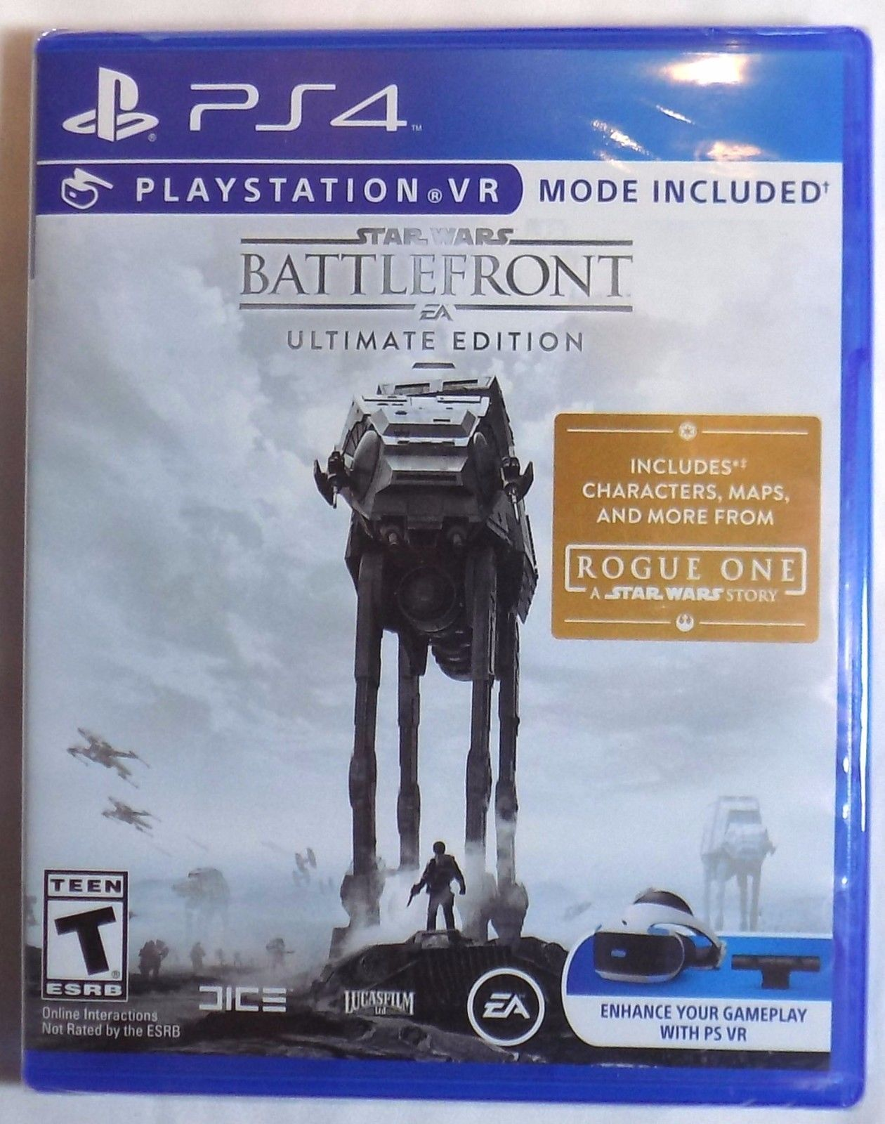 STAR WARS: BATTLEFRONT ULTIMATE EDITION Brand New PS4 Game PlayStation 4 EA Dice  http://searchpromocodes.club/star-wars-battlefront-ultimate-edition-brand-new-ps4-game-playstation-4-ea-dice/