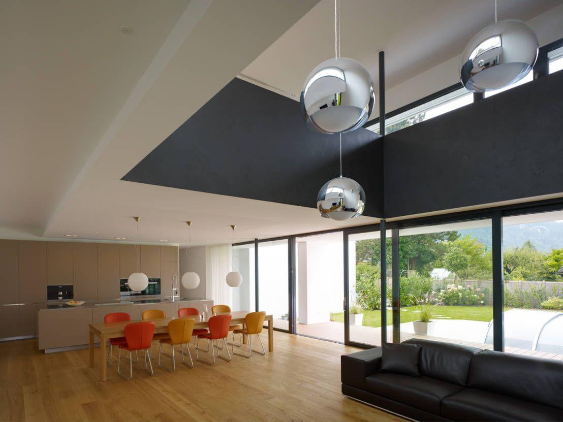 EFH in Hohenems : Moderne Wohnzimmer von Baumschlager Hutter ZT GmbH
