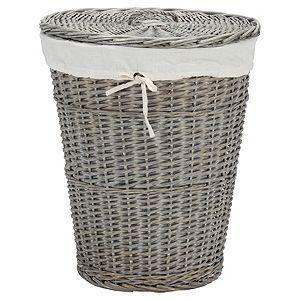 Grey Wicker Laundry Basket Tesco Grey Laundry Basket Laundry Basket Decorative Storage