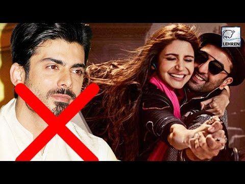 Ae Dil Hai Mushkil Fawad Khan Is Ex Of Anushka Sharma Youtube