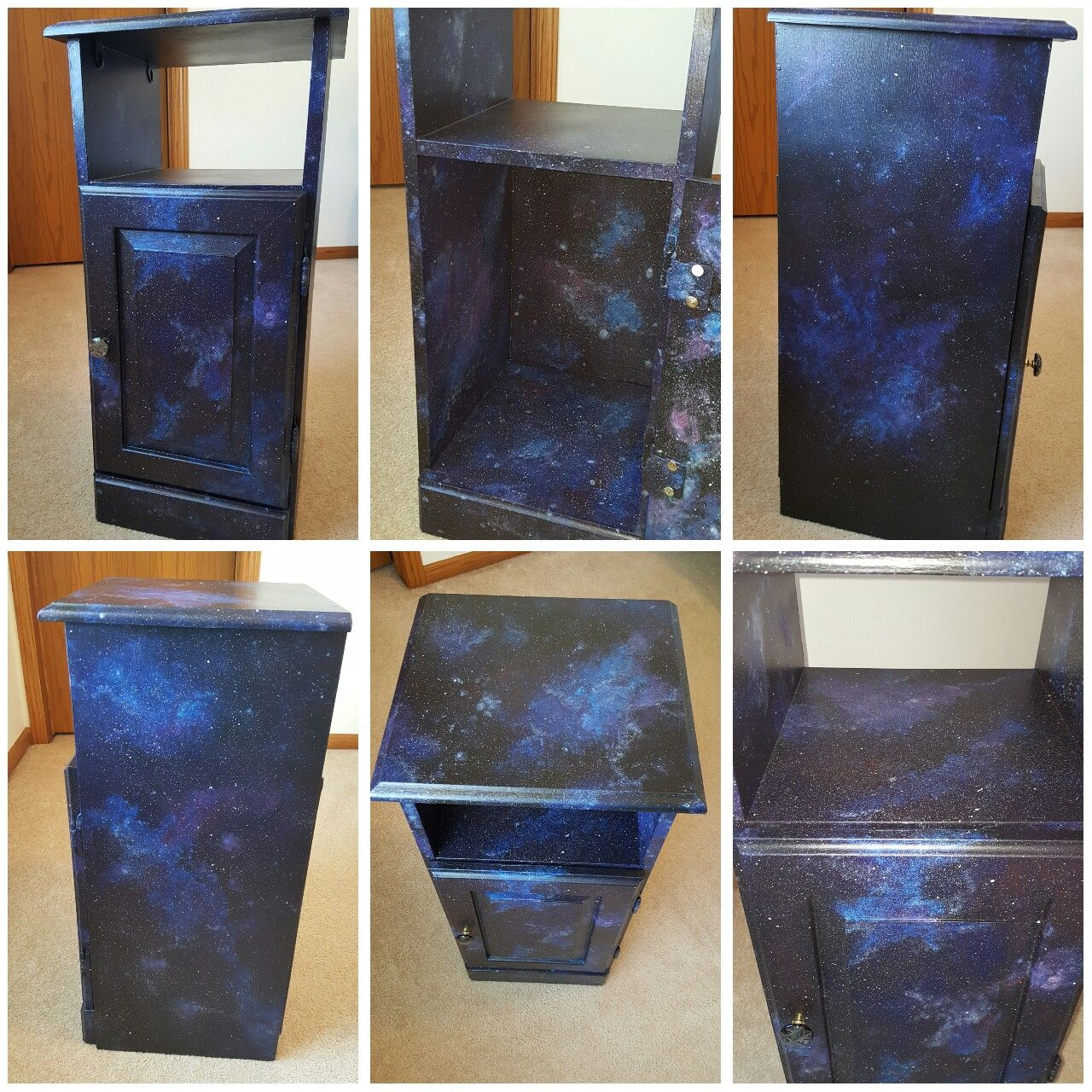 Furniture Project Diy Galaxy Painting