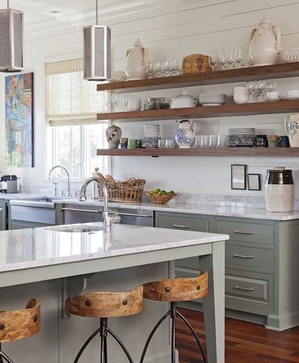 Pin By Reham Hany On Open Shelving: Studio McGee's Guide To Shiplap Walls