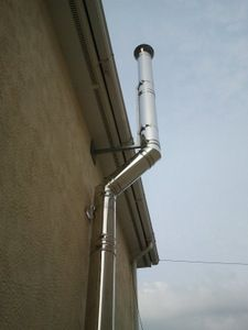Installing A Twin Wall Flue Chimney Huge Amount Of Uk