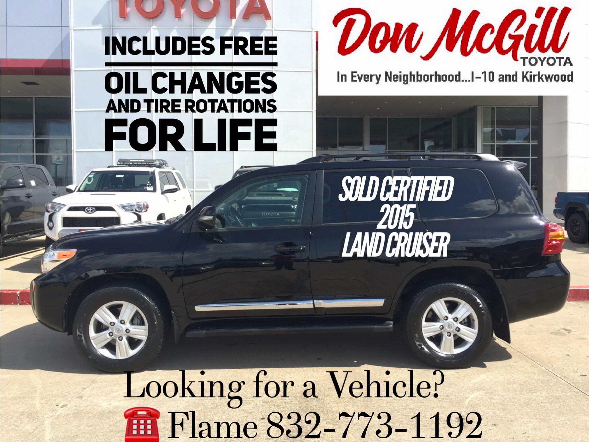 Don Mcgill Toyota 11800 Katy Freeway Houston Tx 77079 Call Or Text