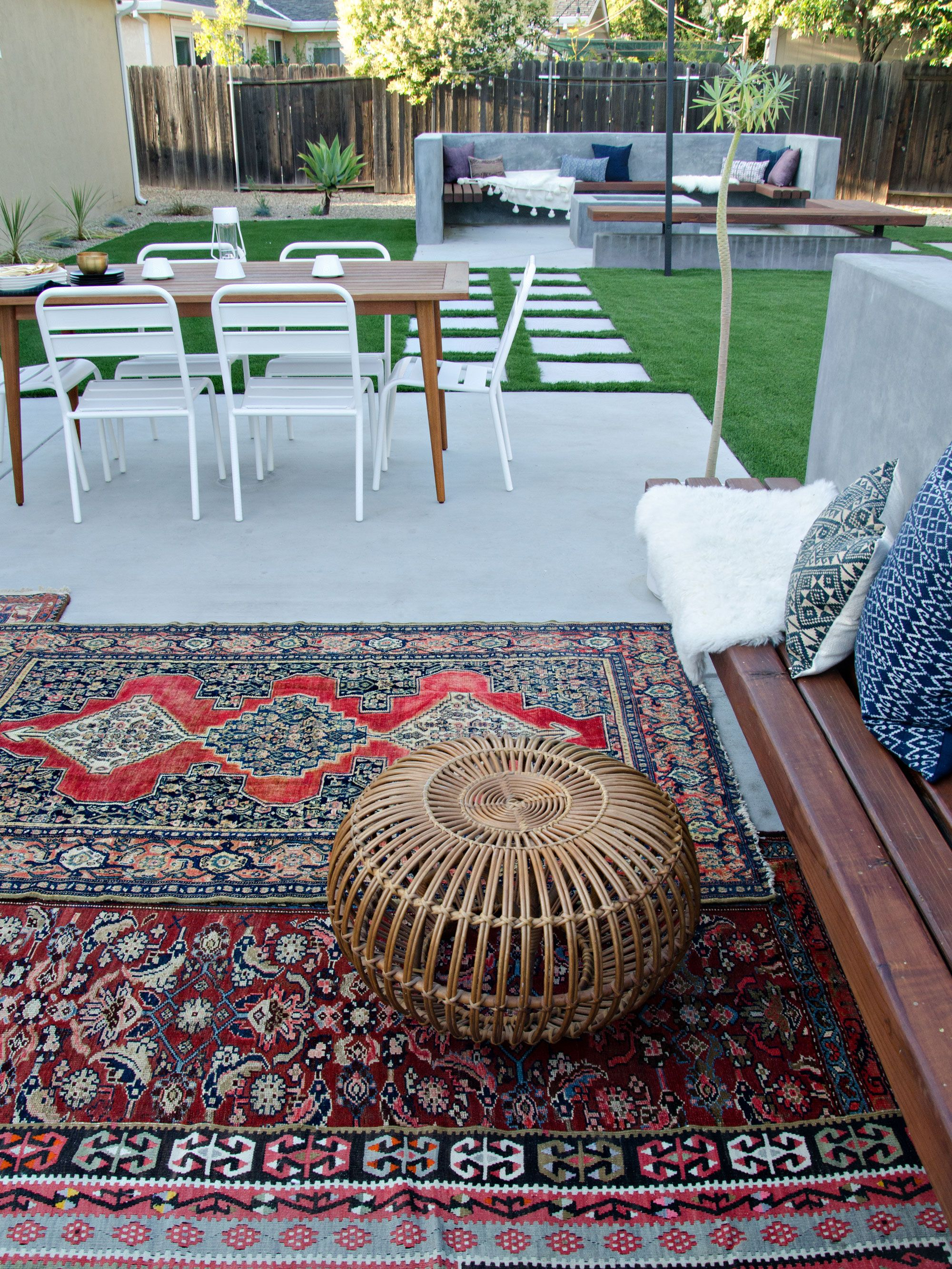 Modern California Backyard Patio Reveal | brittanyMakes ...