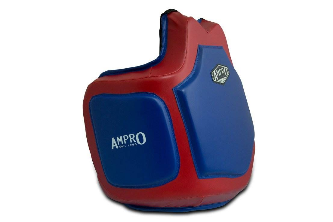 Ampro Pro Body Protector Blue//Red