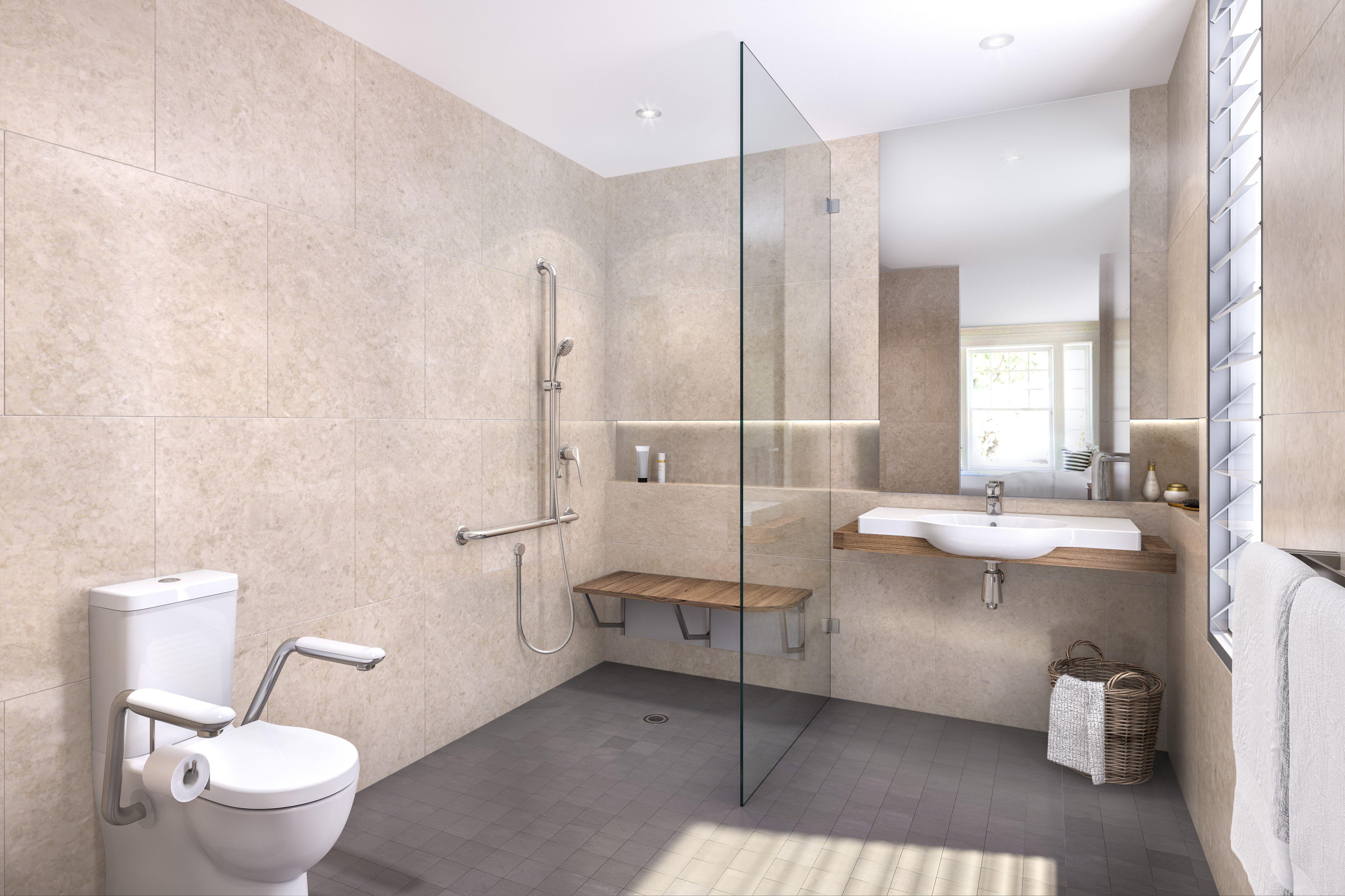 Caroma Aged Care Bathroom | Beautiful bathroom cabinets ...
